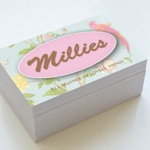Millies Business Cards